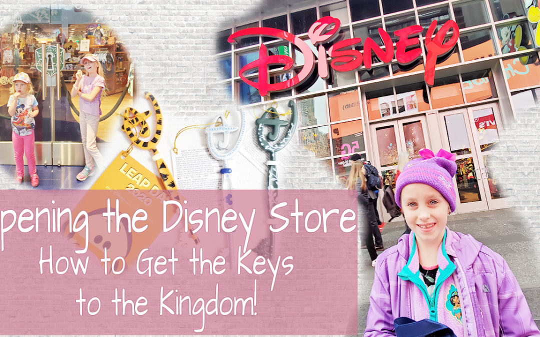 Opening the Disney Store
