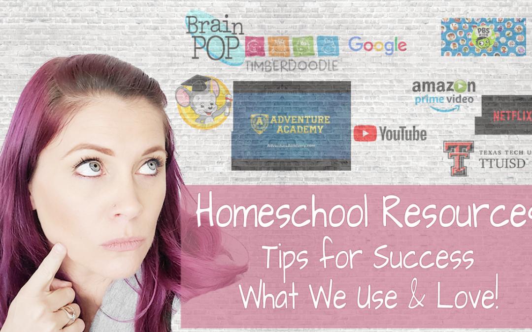 Homeschool Resources We Love