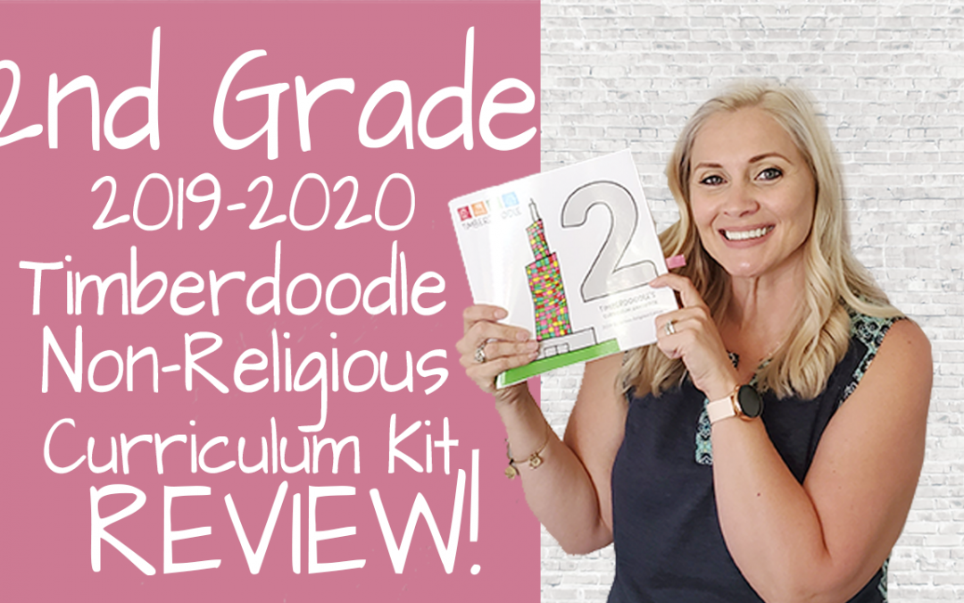 2nd Grade Secular Homeschool Review 2019-2020