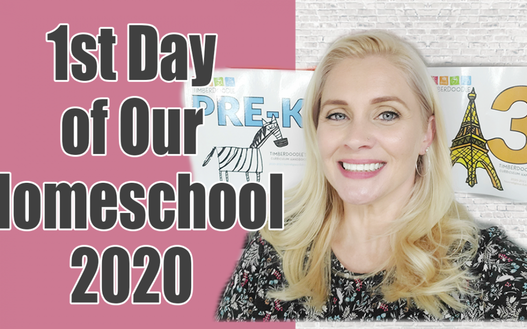 1st day of our homeschool 2020